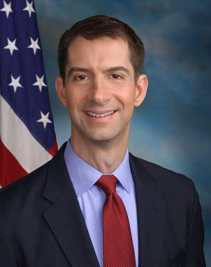 Tom Cotton drops a bomb...